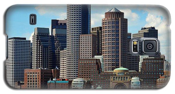 Boston Skyline Galaxy S5 Case by Randi Grace Nilsberg