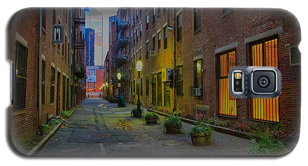 Boston Street Galaxy S5 Case by John Hoey
