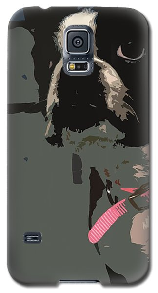 Galaxy S5 Case featuring the digital art Boston Terrier Art01 by Donald Williams