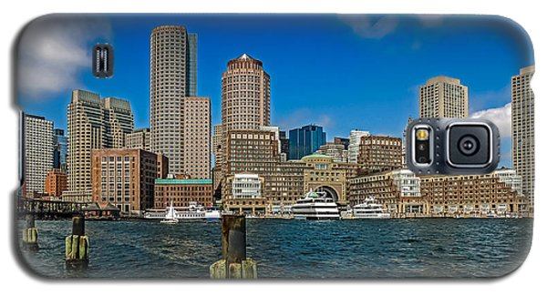 Boston Waterfront Skyline Galaxy S5 Case