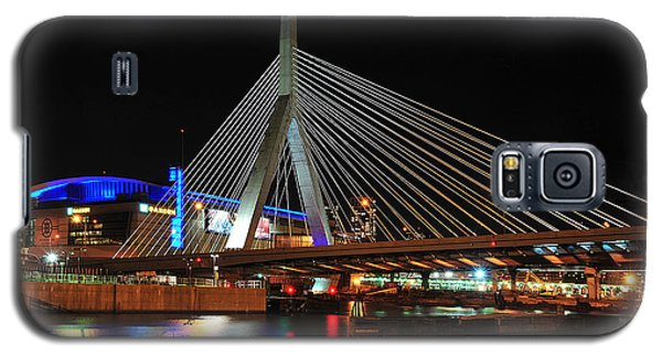 Boston's Zakim-bunker Hill Bridge Galaxy S5 Case by Mitchell R Grosky