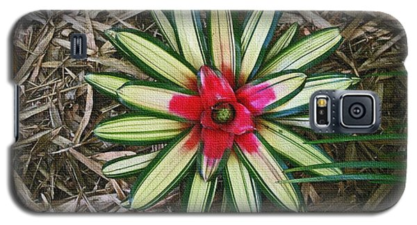 Galaxy S5 Case featuring the photograph Botanical Flower by Tom Janca