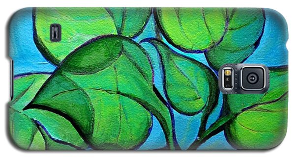 Botanical Leaves Galaxy S5 Case