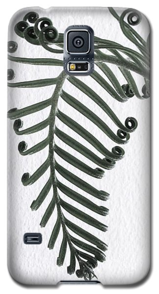 Galaxy S5 Case featuring the photograph Botanical Study Sago 1 by Brenda Pressnall