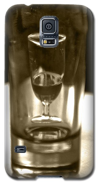 Bottle And Glass0023 Galaxy S5 Case