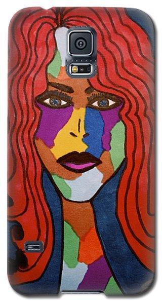 Bottlenecked Red Galaxy S5 Case