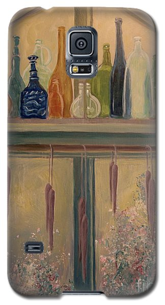 Bottles And Candle Window Galaxy S5 Case