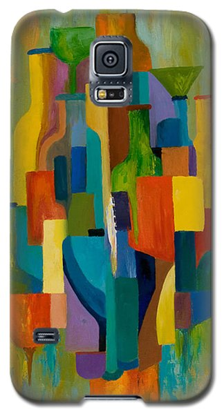 Bottles And Glasses Galaxy S5 Case