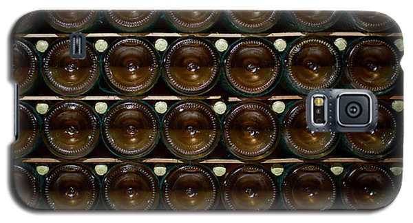 Bottles. Ca Del Bosco Winery. Franciacorta Docg Galaxy S5 Case by Jouko Lehto
