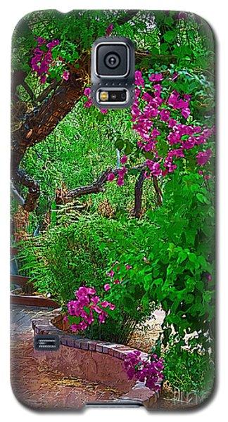 Bougainvillea In The Courtyard Galaxy S5 Case