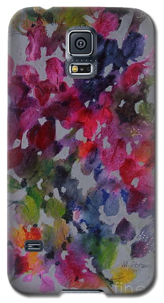 Galaxy S5 Case featuring the painting Bougainvillea by Michelle Abrams
