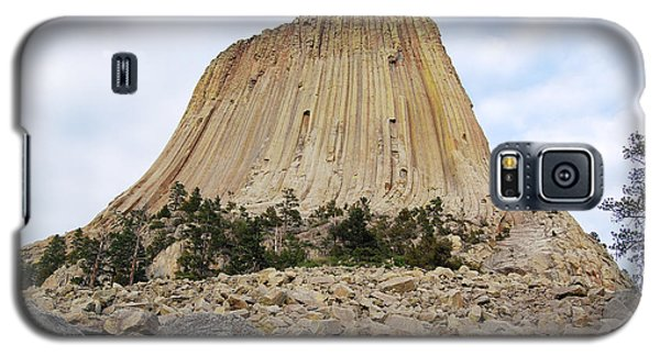 Galaxy S5 Case featuring the photograph Boulder Field Beneath Devils Tower National Monument Wyoming Usa by Shawn O'Brien
