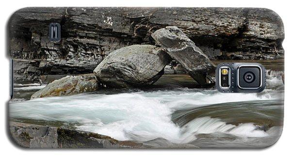 Boulders In Mcdonald Creek Galaxy S5 Case