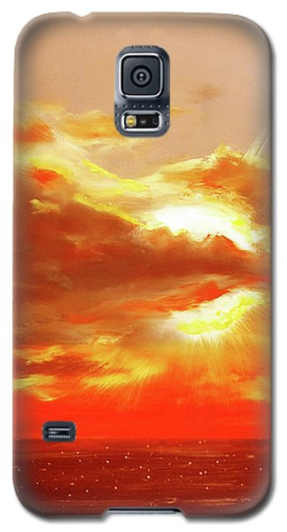 Bound Of Glory - Red Sunset  Galaxy S5 Case