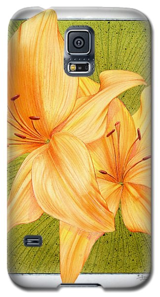 Bounding Bloom Galaxy S5 Case