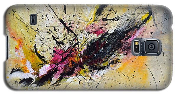 Galaxy S5 Case featuring the painting Boundless Thoughts  by Ismeta Gruenwald
