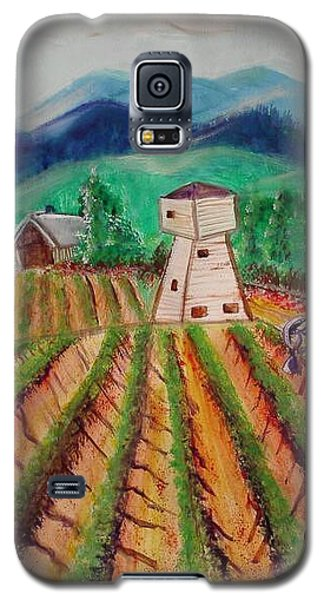 Galaxy S5 Case featuring the painting Bountiful Harvest by Carol Duarte