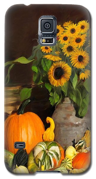Bountiful Harvest - Floral Painting Galaxy S5 Case