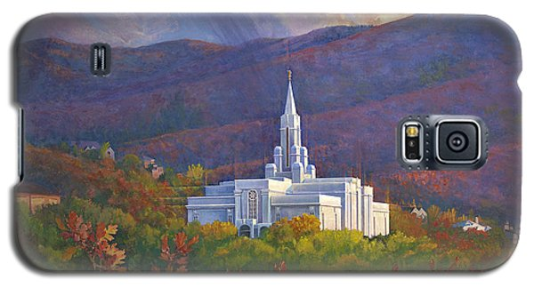 Bountiful Temple In The Mountains Galaxy S5 Case