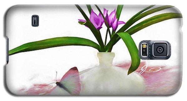Bouque In Digital Watercolor Galaxy S5 Case