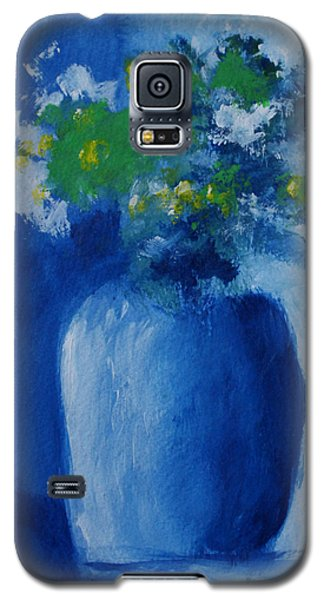 Bouquet In Blue Shadow Galaxy S5 Case