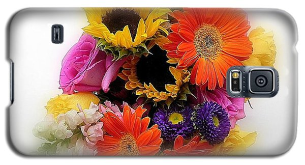 Galaxy S5 Case featuring the photograph Bouquet Of Color by Peggy Stokes