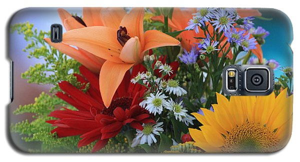 Galaxy S5 Case featuring the photograph Bouquet Of Flowers by Geraldine DeBoer