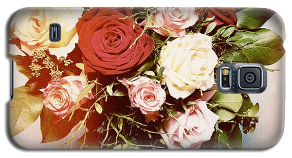 Bouquet Of Flowers Galaxy S5 Case by Matthias Hauser