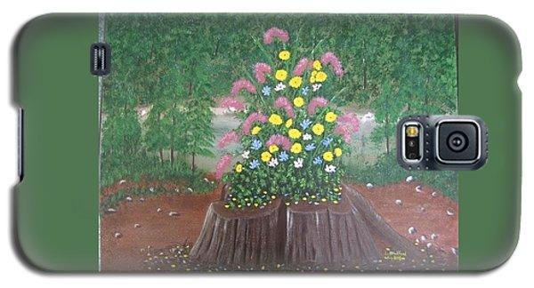 Bouquet On A Stump Galaxy S5 Case