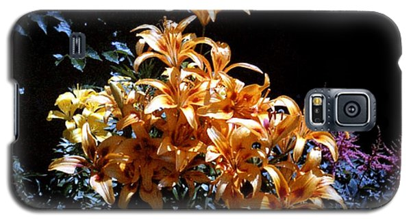 Orange Lilium Bouquet Galaxy S5 Case