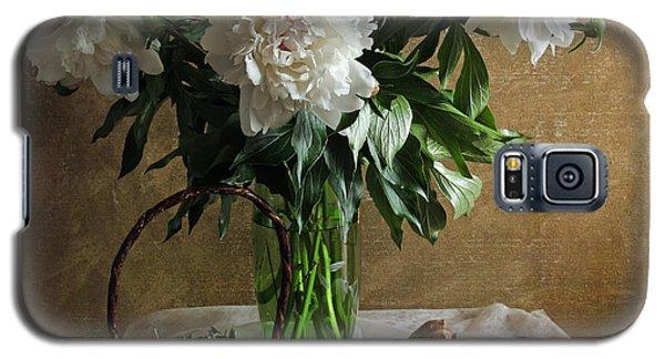 Bouquet Peonies Flowers Galaxy S5 Case