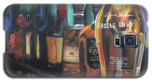 Bourbon Bar Oil Painting Galaxy S5 Case