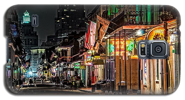 Bourbon Street Glow Galaxy S5 Case by Andy Crawford