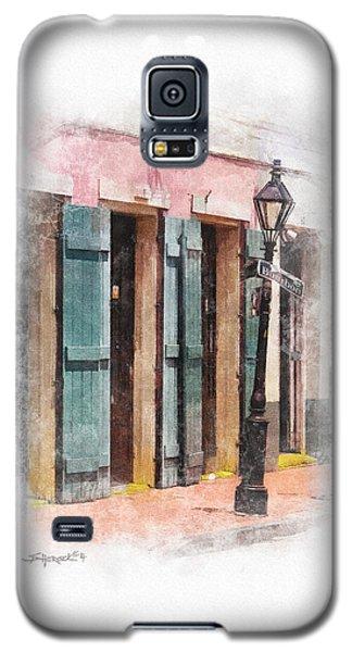 Bourbon Street Lamp Post Galaxy S5 Case
