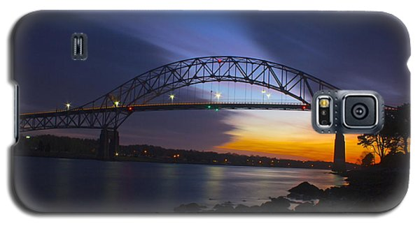 Bourne Bridge Galaxy S5 Case by Amazing Jules