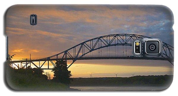 Bourne Bridge Sunrise Galaxy S5 Case
