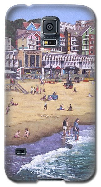 Bournemouth Boscombe Beach Sea Front Galaxy S5 Case
