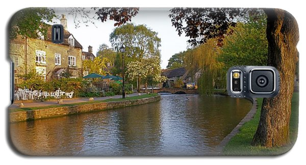 Bourton On The Water 3 Galaxy S5 Case by Ron Harpham