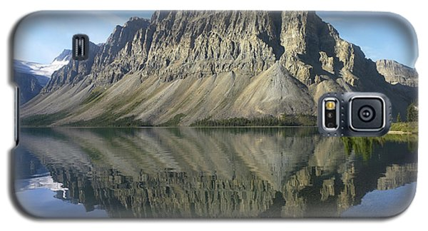 Bow Lake And Crowfoot Mts Banff Galaxy S5 Case