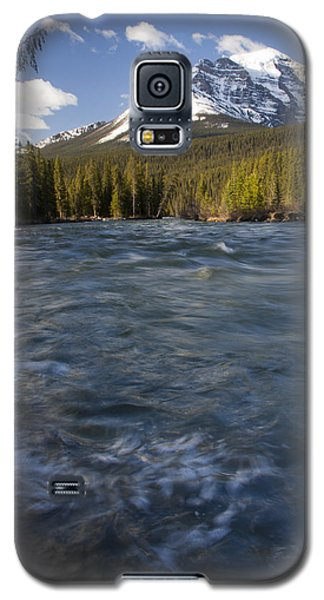 Bow River At Lake Louise Galaxy S5 Case