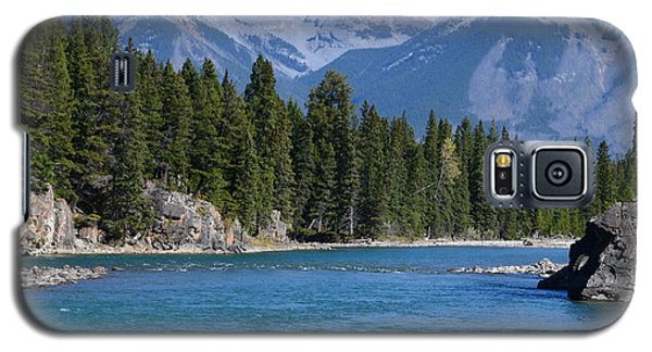 Bow River  Galaxy S5 Case by Cheryl Miller