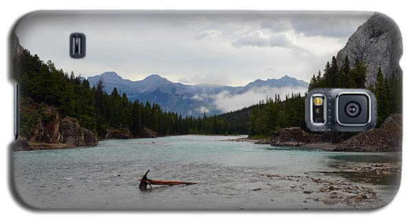 Galaxy S5 Case featuring the photograph Bow River by Yue Wang