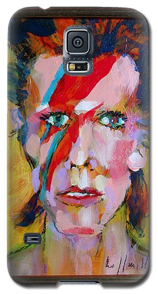 Bowie Galaxy S5 Case by Les Leffingwell
