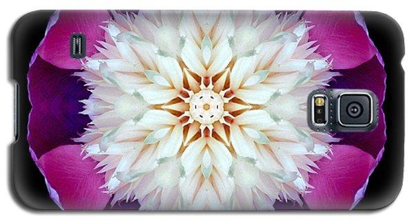 Bowl Of Beauty Peony II Flower Mandala Galaxy S5 Case by David J Bookbinder