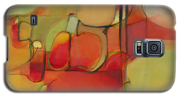 Galaxy S5 Case featuring the painting Bowl Of Fruit by Michelle Abrams