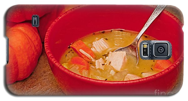 Bowl Of Homemade Chicken Noodle Soup Galaxy S5 Case
