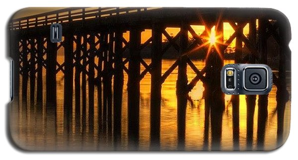 Scenic Galaxy S5 Case - Bowman Bay Pier  #sunset by Mark Kiver