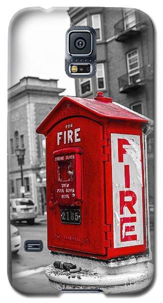 Box Alarm Galaxy S5 Case by Jim Lepard