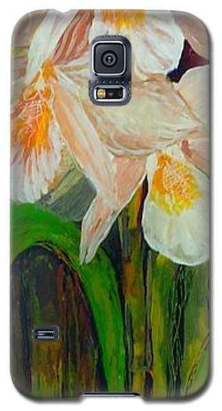 Boxed Orchids Galaxy S5 Case