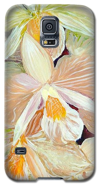 Boxed Orchids Detail Galaxy S5 Case